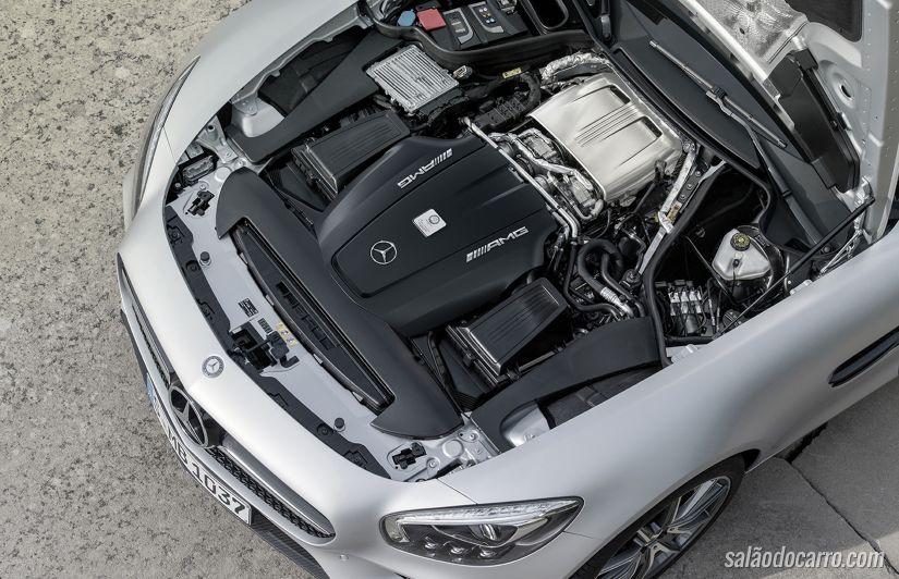 Mercedes Classe G estreia motor V8 do AMG GT