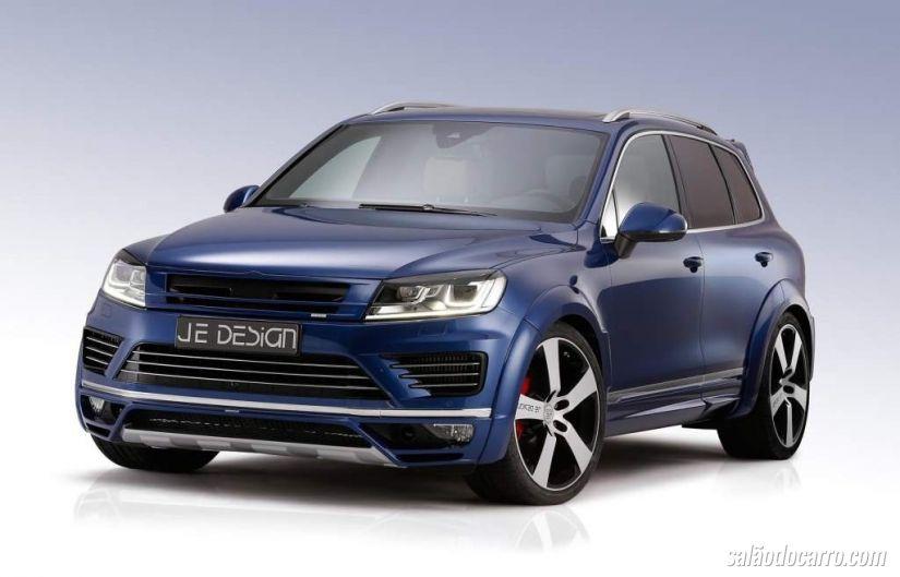 VW Touareg ganha mais esportividade e potência