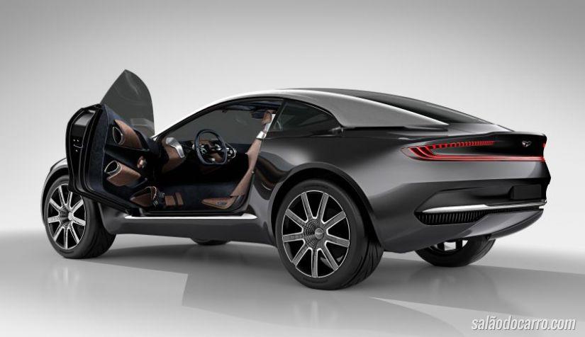 Aston Martin confirma produção do conceito DBX