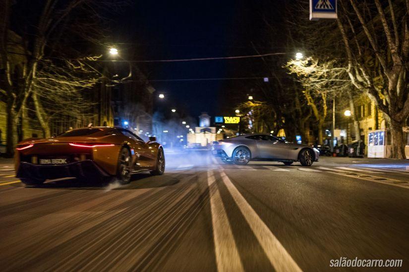 Confira os carros do novo filme de 007 em cena de ação