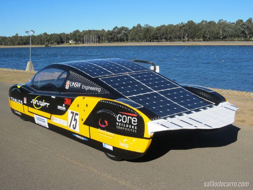 Modelo de carro movido a energia solar deverá ser lançado em julho