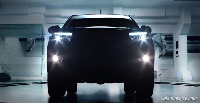 Confira o novo teaser do Toyota Hilux 2016