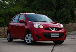 Teste do Nissan March 1.0 S