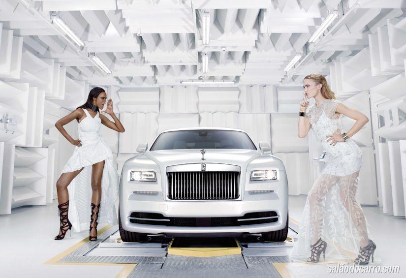 """Rolls-Royce revela o Wraith """"Inspired by Fashion"""""""