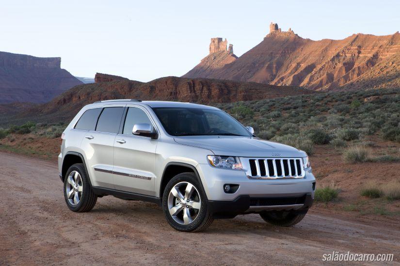 Jeep convoca recall do Grand Cherokee