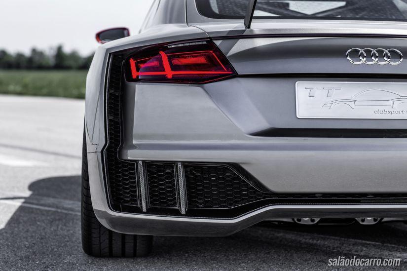Audi apresenta TT Clubsport Turbo Concept de 600 cv