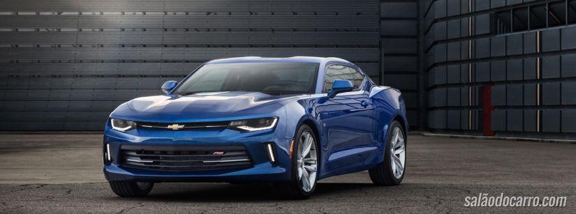 Chevrolet apresenta nova geração do Camaro