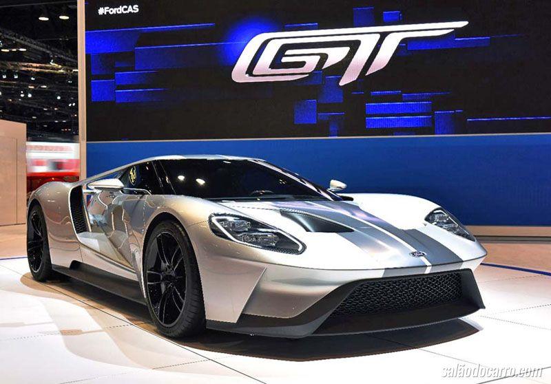 Novo Ford GT chega com 250 unidades