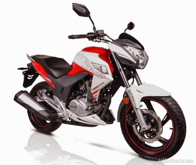 Traxx anuncia motos TSS e Fly de 150 cc para o segundo semestre de 2015