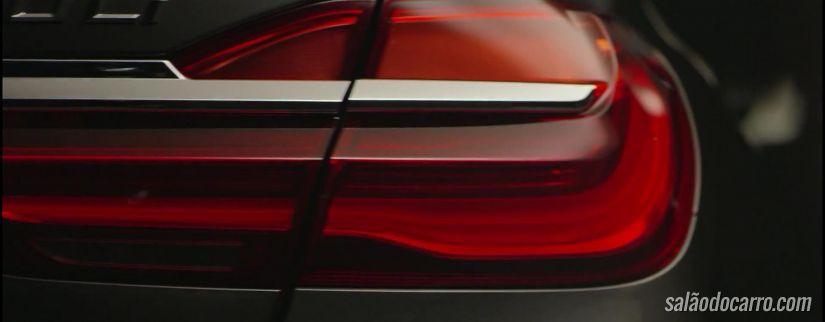 Confira o teaser do novo BMW Série 7