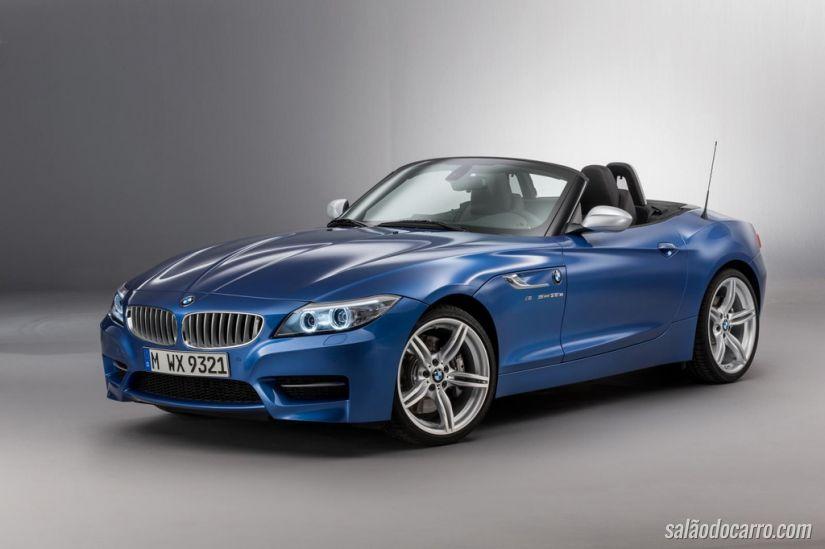 BMW Roadster Z4 com nova cor