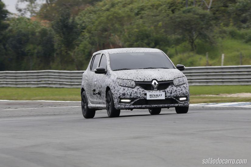 Confira imagens inéditas do novo Sandero RS