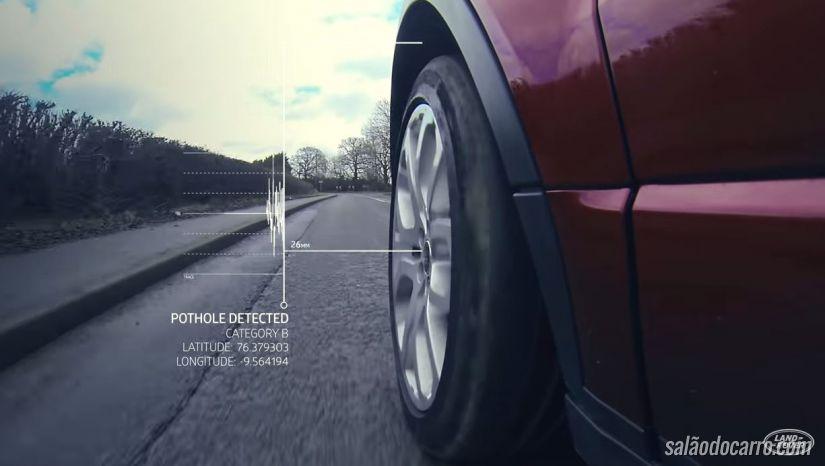 Tecnologia do novo Land Rover vai mapear buracos nas estradas