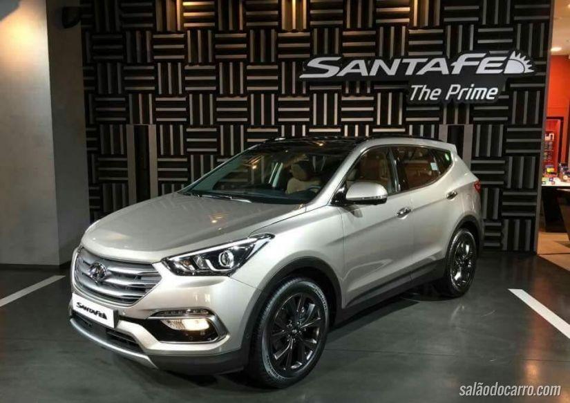 Hyundai Santa Fé 2016 aparece na Coréia do Sul