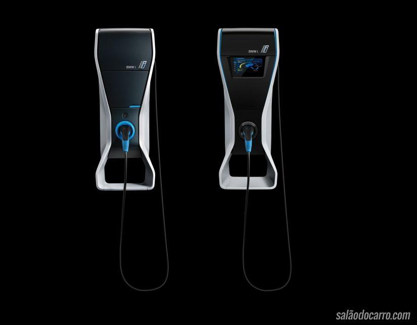 BMW anuncia pontos de recarga para veículos elétricos