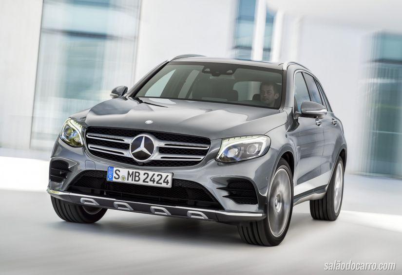 Confira o novo teaser do Mercedes GLC
