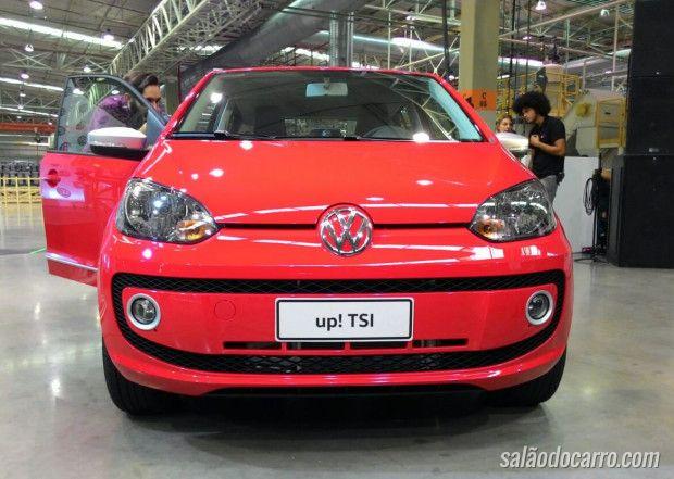 Volkswagen apresenta novo up! TSI