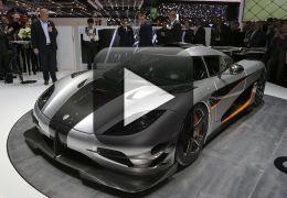 Koenigsegg One: 1 bate recorde de aceleração