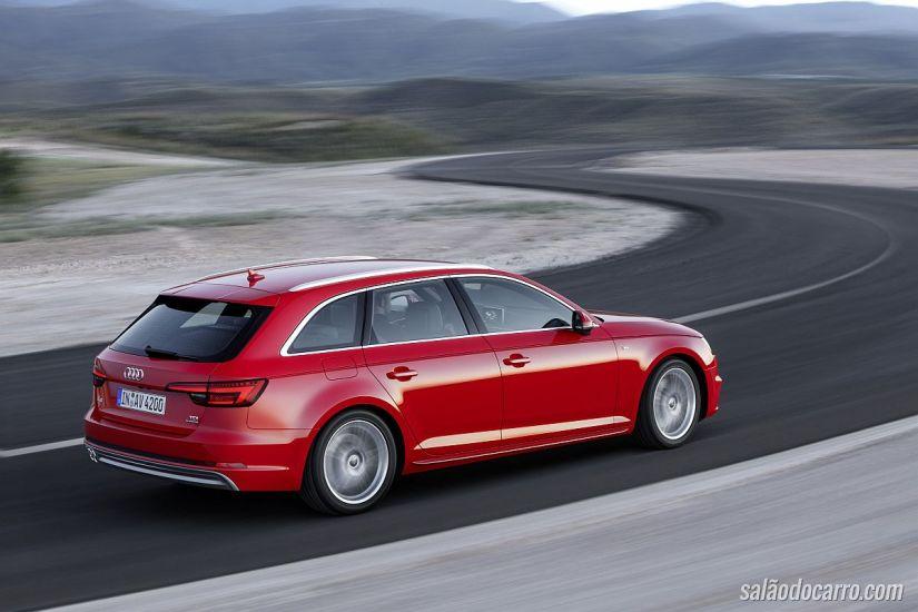 Audi divulga imagens da nova geração do A4