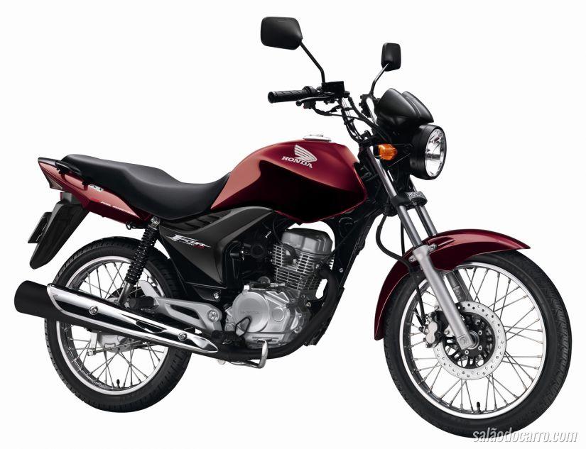 Motos mais vendidas em maio de 2015