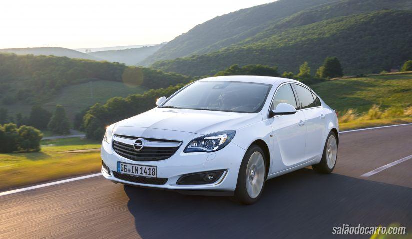 Opel Insignia 2016 pode chegar a 136 cv
