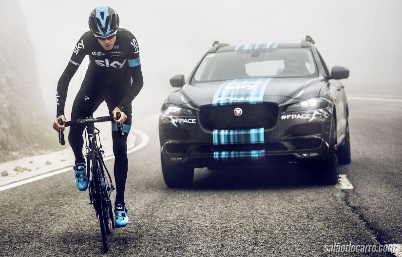 Confira imagens do conceito Jaguar F-Pace