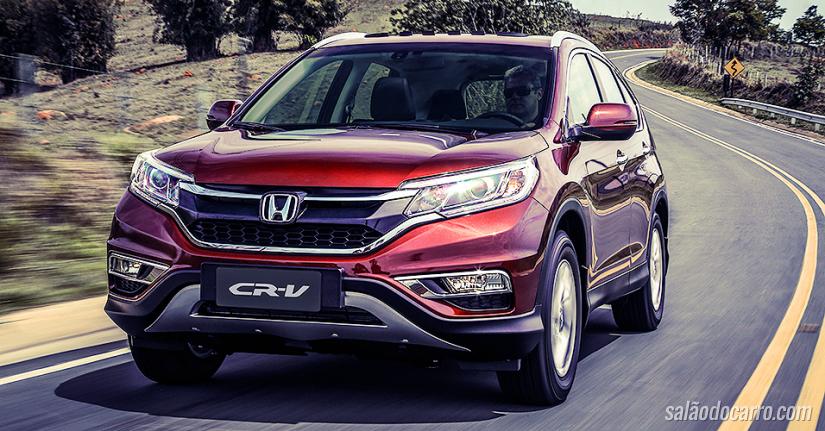 Novo Honda CR-V 2015 traz tração 4x4 e motor 2.0 16 válvulas