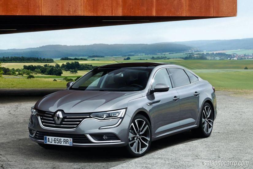 Confira o teaser do novo Renault Talisman