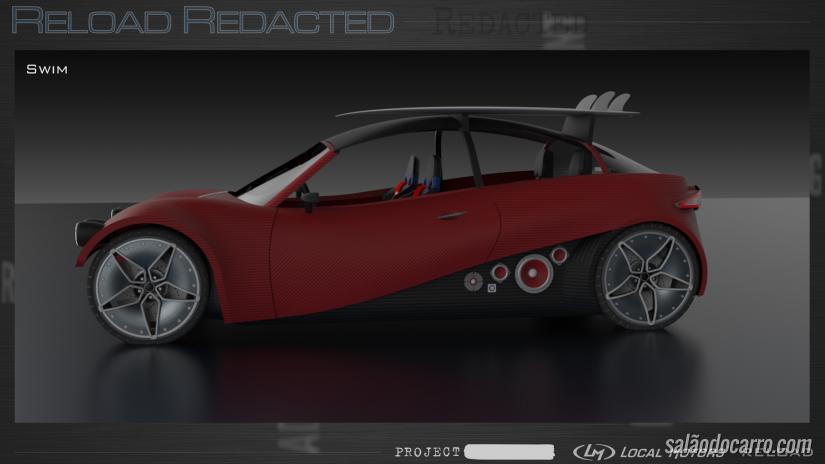 Empresa divulga projeto de carro feito em impressora 3D