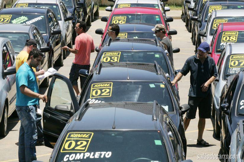 Vendas de carros usados crescem 4,2%