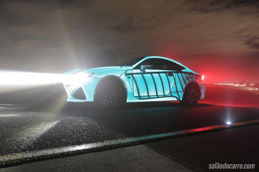 Carro ganha iluminação de acordo com os batimentos cardíacos do motorista