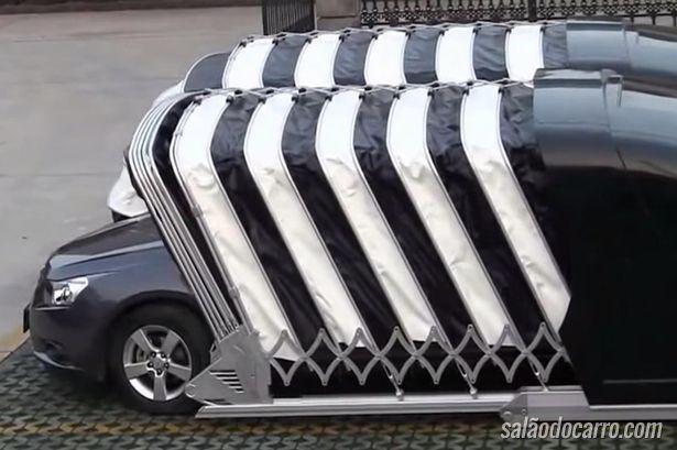 Empresa chinesa inova em solução de cobertura para veículos
