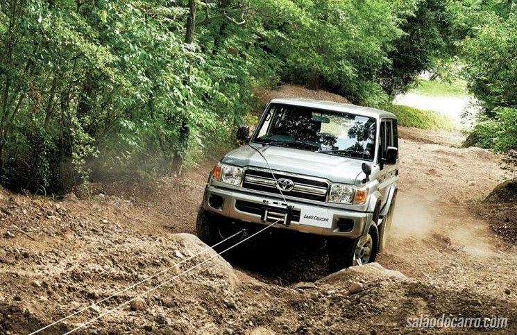 Toyota Land Cruiser Serie 70 volta à produção