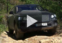 Confira mais um teaser do novo SUV da Bentley