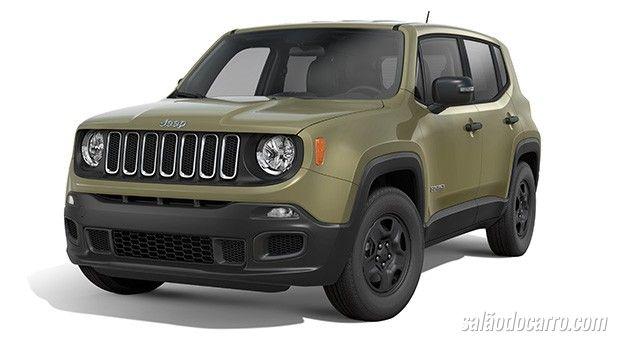 Jeep Renegade ganha versão mais em conta
