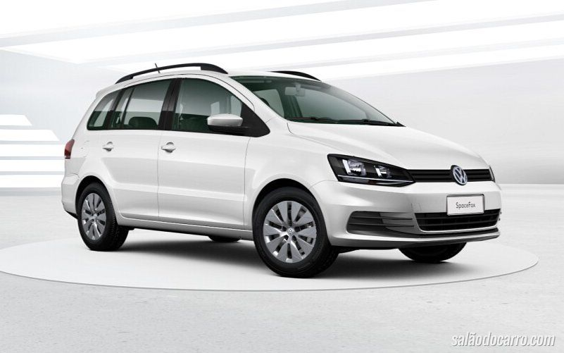 VW SpaceFox Trendline chega por R$ 56,2 mil