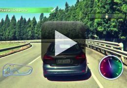 Ford imita vídeo-game para comemorar os 250 milhões de quilômetros em campo de provas