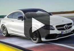 Confira o novo teaser do Mercedes Classe C Coupé AMG