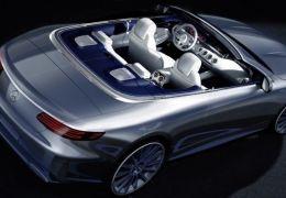 Mercedes Classe S conversível ganha foto oficial