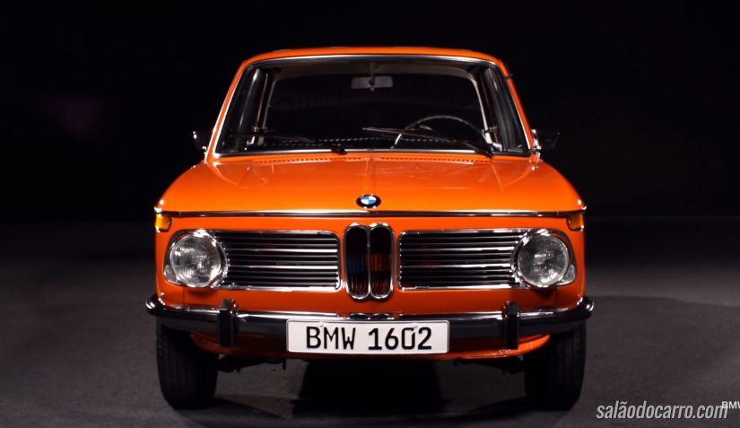 BMW divulga imagens de misterioso carro elétrico da década 70
