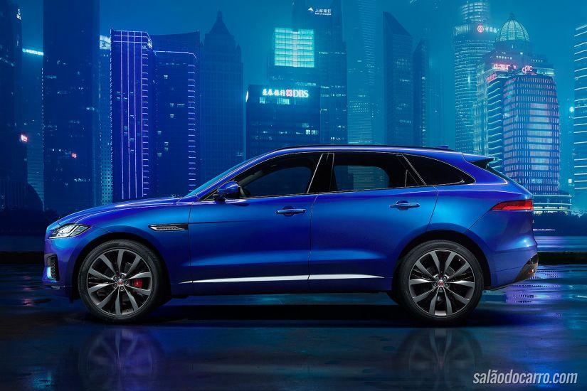 Jaguar divulga novas imagens do novo F-Pace