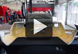 Confira o trabalho de restauração do Corvette nº 1 milhão