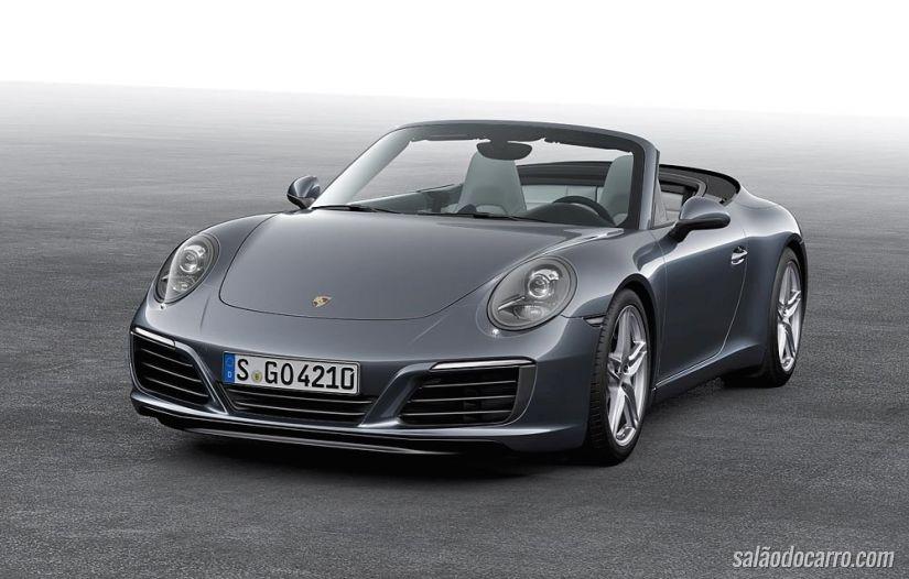 Novo Porsche 911 Carrera vem com motor biturbo