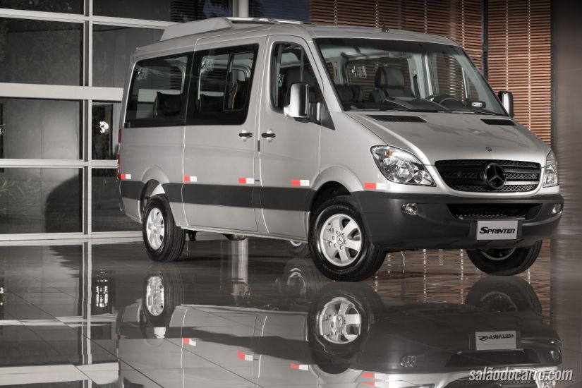 Mercedes Sprinter sofre recall