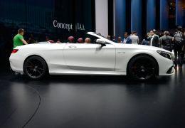 Classe S Cabriolet chama a atenção em Frankfurt