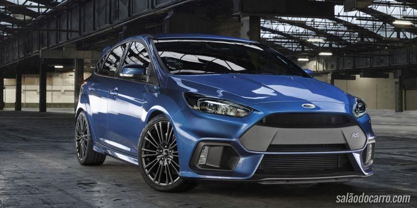 Ford divulga novo vídeo colocando o Focus RS em uma prova de fogo