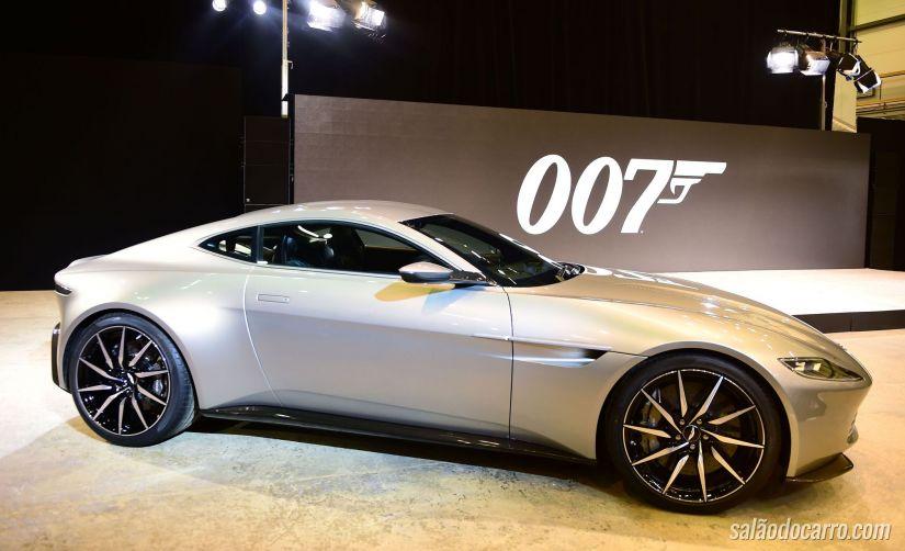 Confira imagens do novo carro do 007
