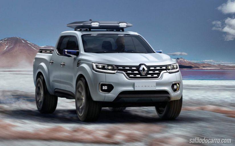 Renault libera vídeo do novo conceito Alaskan