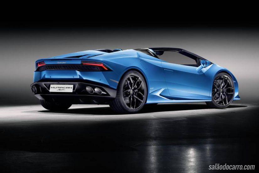 Lamborghini apresenta novo Huracán Spyder