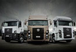 Lançamento da linha 2016 de caminhões Volkswagen e MAN